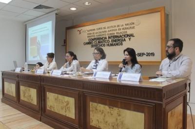 Es la hora de la gran movilización global contra el cambio climático: Mónica Robles