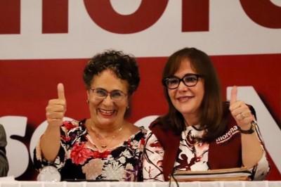 Orden judicial maniata a candidatas de Morena