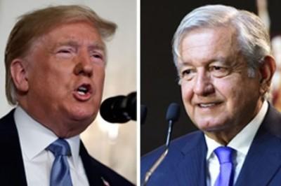 Acuerdan AMLO y Trump frenar tráfico de armas