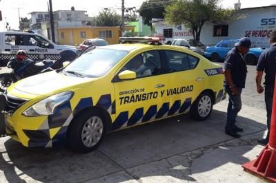 En Veracruz, agreden a elemento de tránsito municipal (+Fotos)
