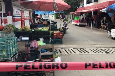 En Xalapa, balean carnicería en avenida Atenas