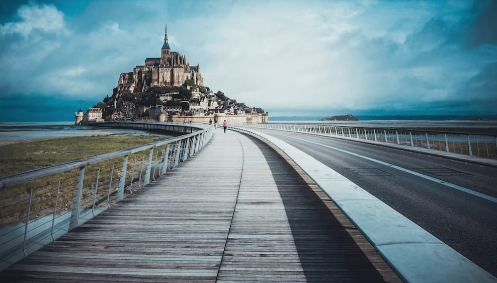 Mont-Saint-Michel--France
