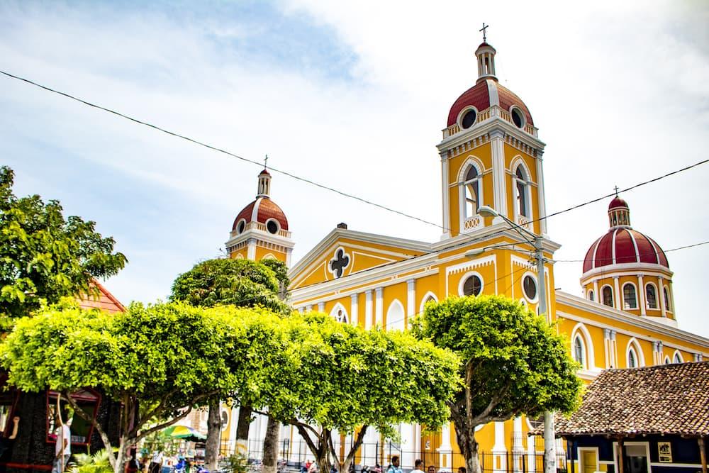 Granada--Nicaragua-cathedral