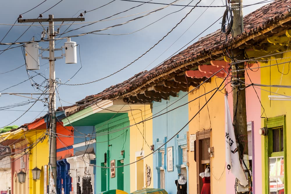 Granada--Nicaragua-houses