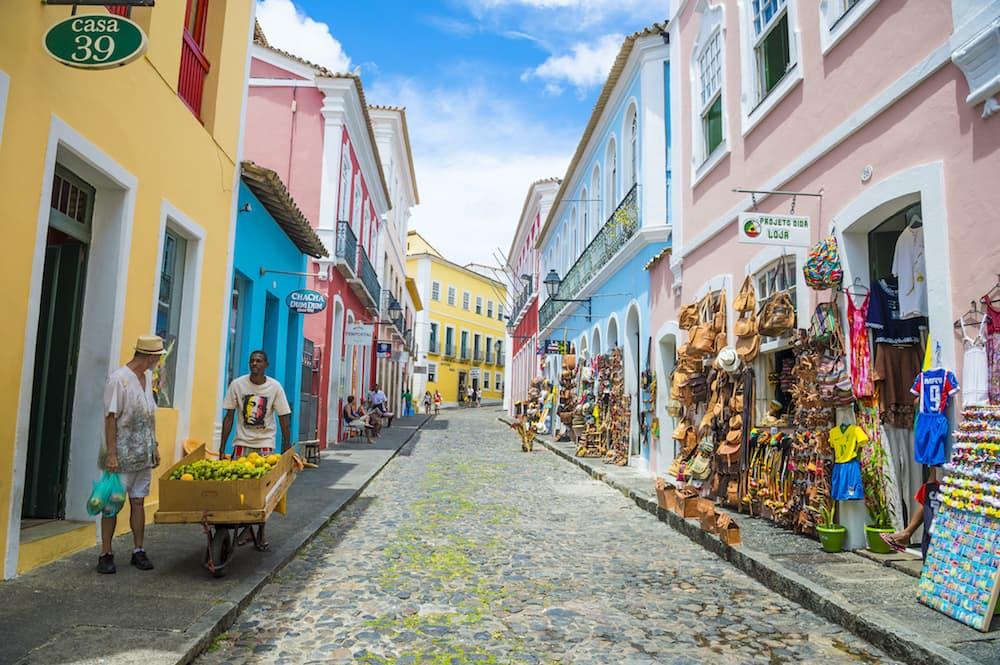 Salvador--Bahia--Brazil-streets