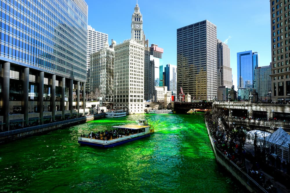 St Patrick's Day Chicago