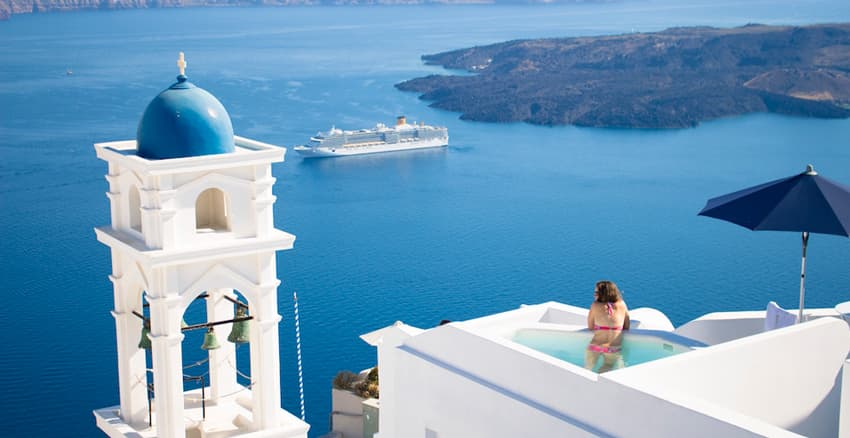 Santorini--Greece