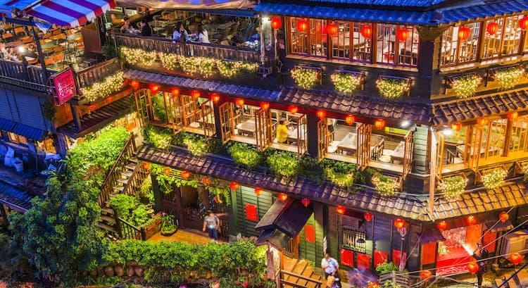 Jiufen-teahouse