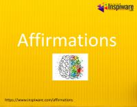 List of Affirmations