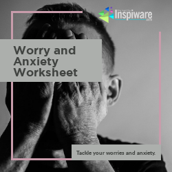 worry and anxiety worksheet