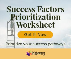 Success Factors Prioritization Worksheet
