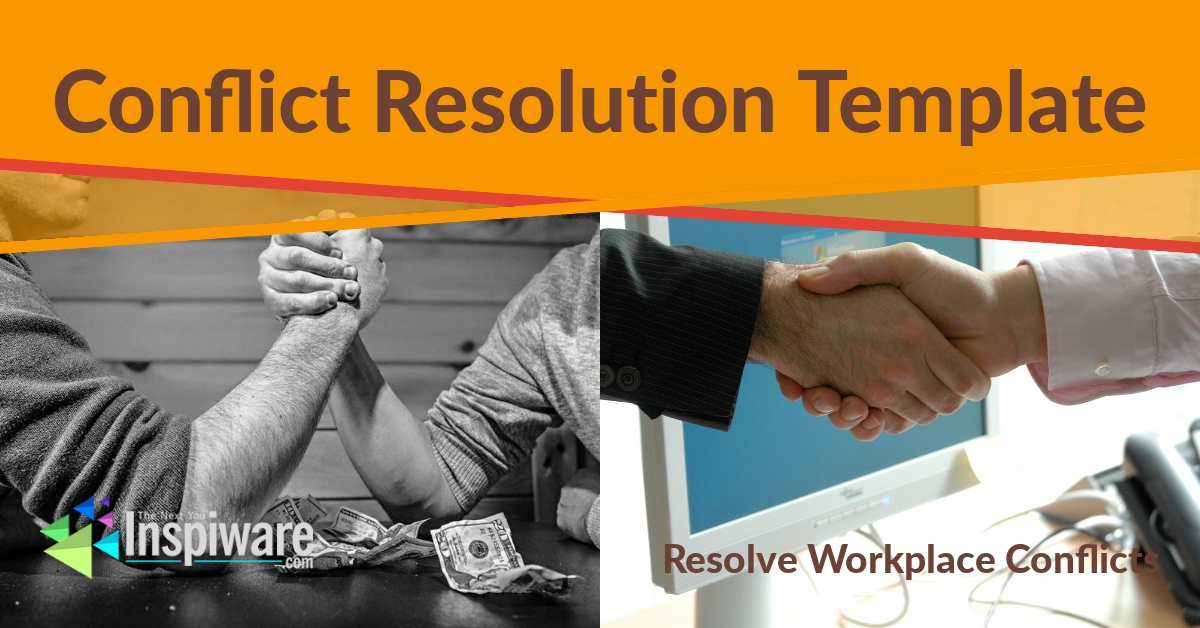 Conflict Resolution Template