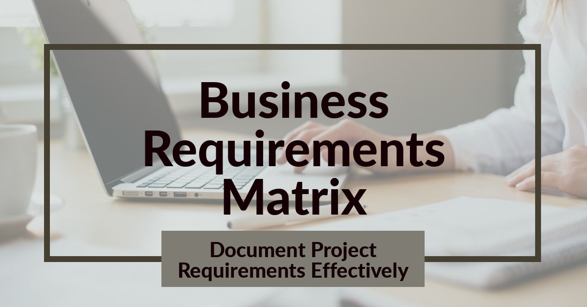 Inspiware.com Business Requirements Matrix Template is a simple spreadsheet to capture project requirements.