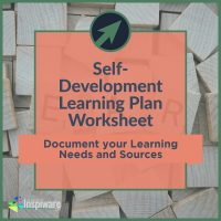 Self-Development Learning Plan Worksheet