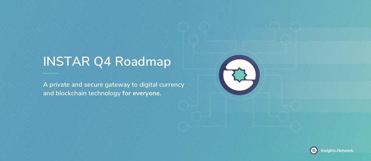 2018 INSTAR Q4 Roadmap
