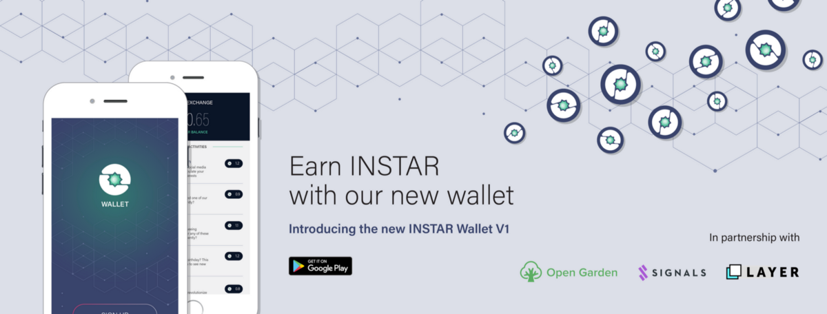 INSTAR Wallet V1, Competing to lead Blockchain IDV, and Data Exchange Partnerships.