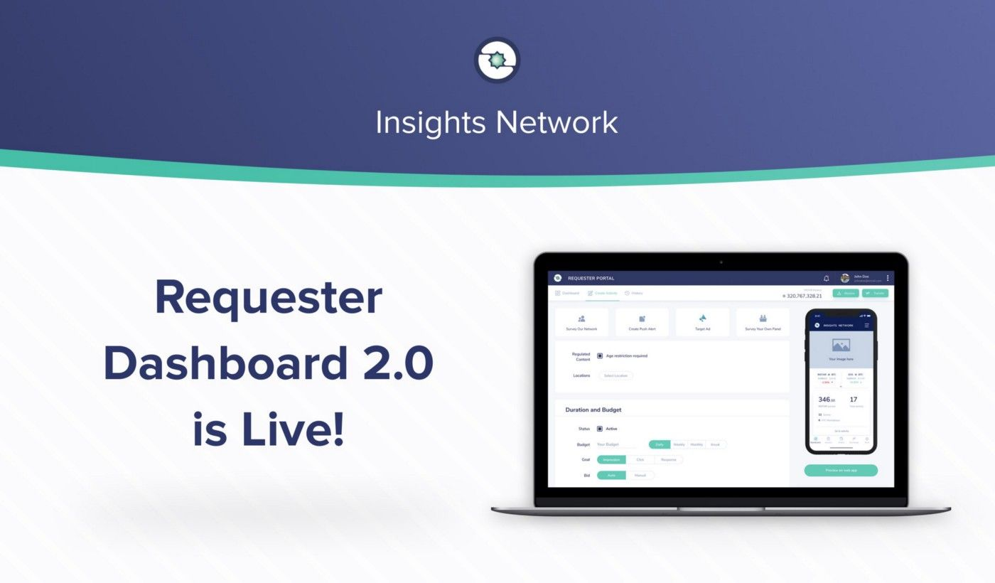 Requester Dashboard 2.0 Is Live!