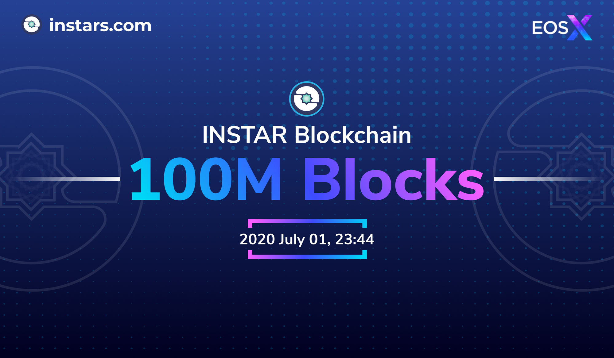 INSTAR Blockchain Surpasses 100M Blocks 💫