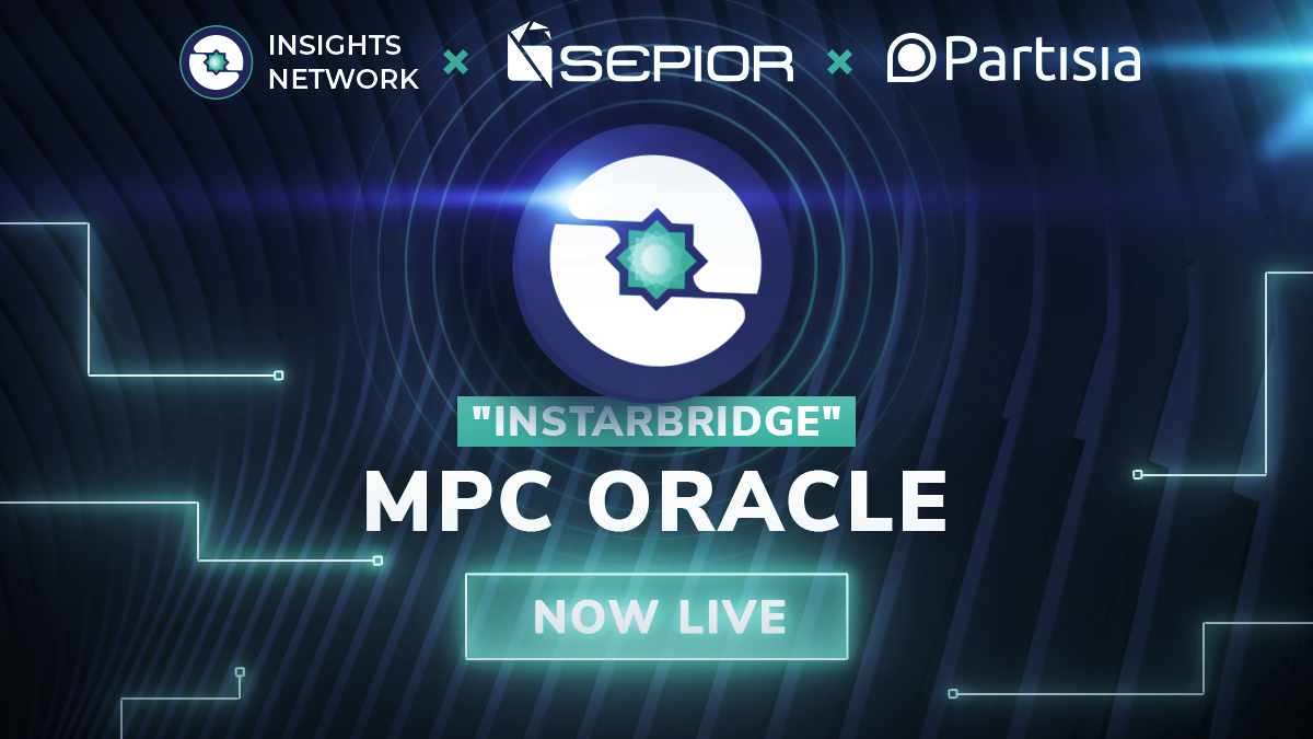 """INSTARBRIDGE"", Powered by MPC Oracles is Now Live! 💫"