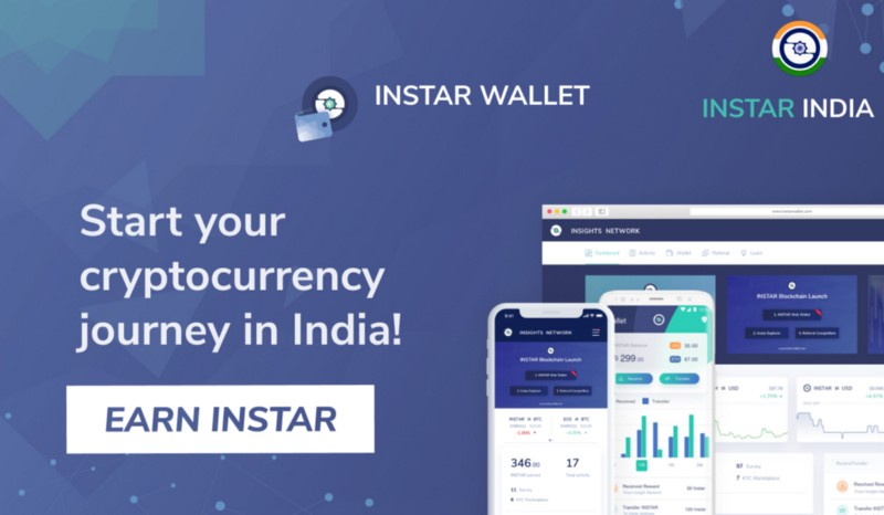 InstarWallet.com launches exclusive opportunities to earn free crypto in India!