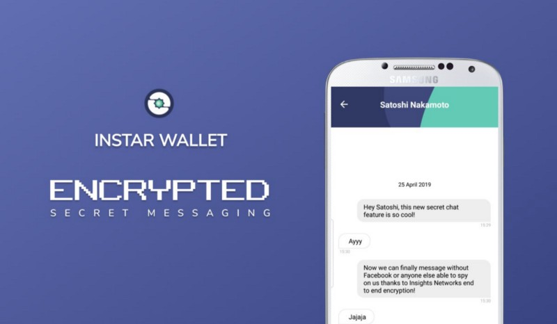 Secret Chats Have Launched on INSTAR Wallet Android!