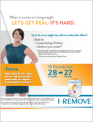 I-REMOVE™ Patient education tearsheet