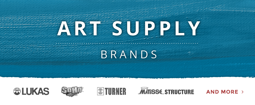 Art Supply Brands Promo Image