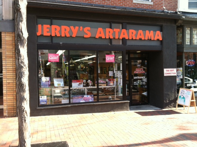 Jerry's Artarama Retail Art Supply Store in Wilmington, DE