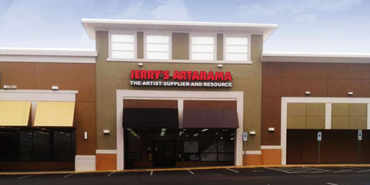 Jerry's Artarama Retail Art Supply Store in Raleigh, NC