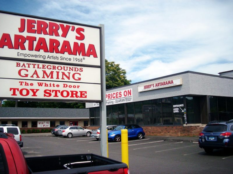 Jerry's Artarama Retail Art Supply Store in Norwalk, CT