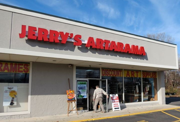 Jerry's Artarama Retail Art Supply Store in Lawrenceville, NJ