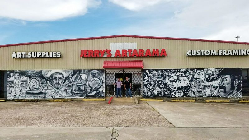 Jerry's Artarama Retail Art Supply Store in Houston, TX