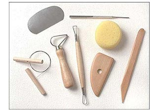 Clay Sculpture & Ceramic Molding & Modeling Tools Product Image