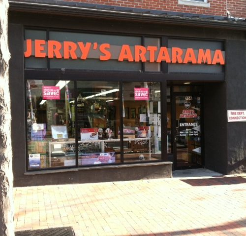 Exterior Picture of Jerry's Artarama Art Supply Store in Wilmington, DE