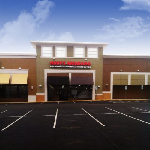 Exterior Picture of Jerry's Artarama Art Supply Store in Raleigh, NC