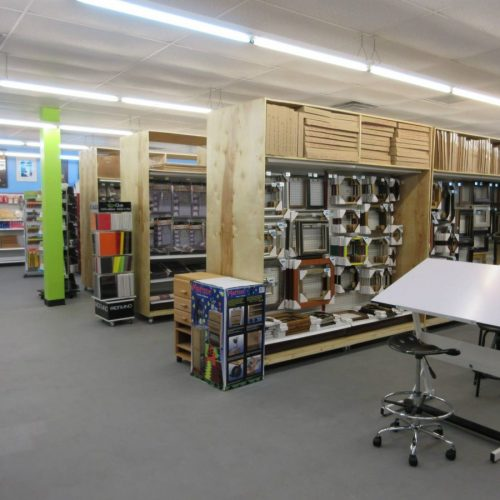 Picture Frames, Drafting Tables, & Other Art Supplies in Jerry's Artarama of San Antonio, TX