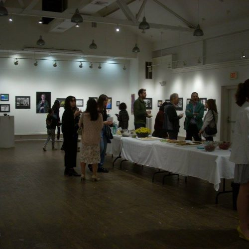 An Art Show at Jerry's Artarama of Norwalk, CT