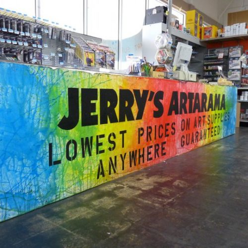 Large Mural at Jerry's Artarama Art Supply Store in Deerfiled Beach, FL