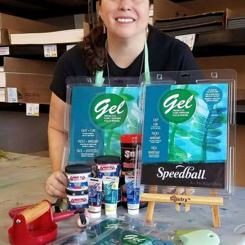 Speedball Gel Art Supplies at Jerry's Artarama of Deerfield Beach, FL
