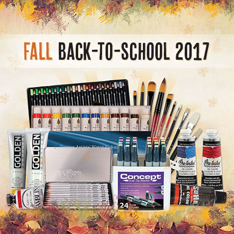 Fall Back-to-School Art Supplies Sale 2017 Promo Picture