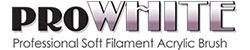 ProWhite Acrylic Brushes Logo