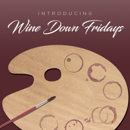 Jerry's Artarama Wine Down Fridays Promo Image