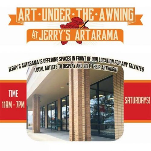 Art Under the Awning at Jerry's Artarama Promo Image