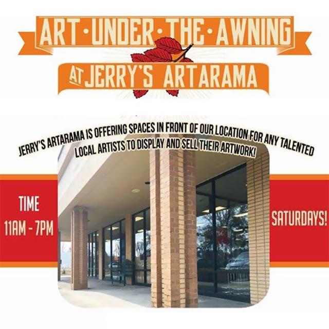 Art Under the Awning at Jerry's Artarama Promo Image