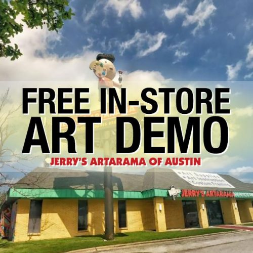 Free In-Store Art Demo at Jerry's Artarama of Austin, TX Promo Picture