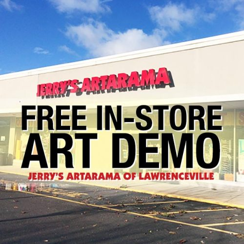 Free In-Store Art Demo at Jerry's Artarama of Lawrenceville, NJ Promo Picture