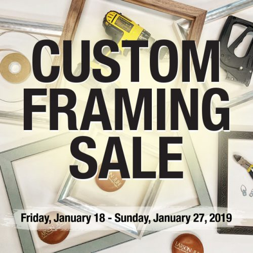 Custom Framing Sale