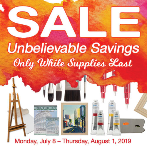 Sizzling July Savings