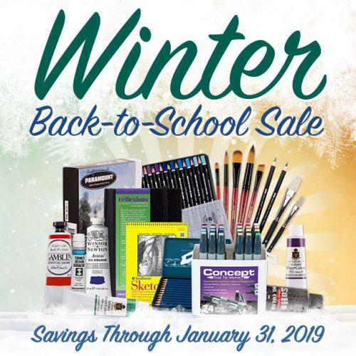 Winter Back-to-School Sale