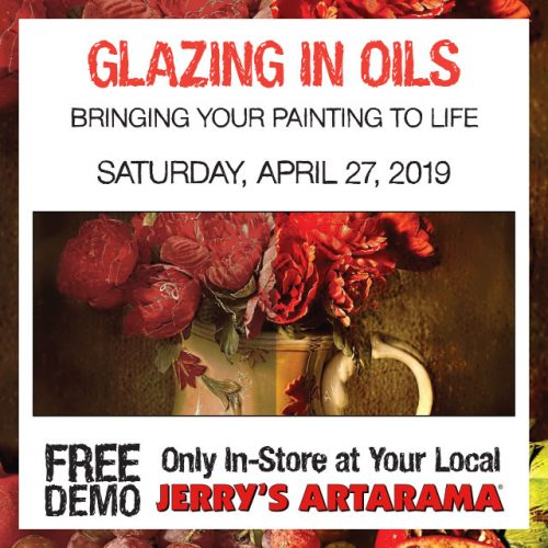 Free Demo! Glazing in Oils